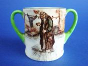 Rare Royal Doulton 'Fagin' Dickens Ware Series 'A' Miniature Loving Cup c1920 (Sold)